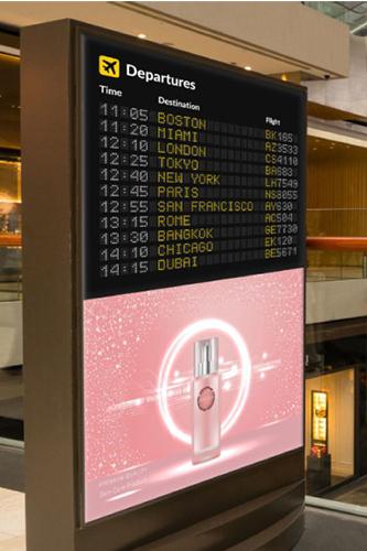 LCD液晶ディスプレイ屋内